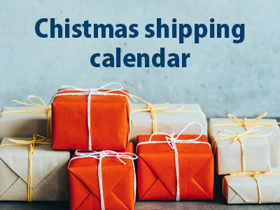sendparcelnow christmas shipping calendar